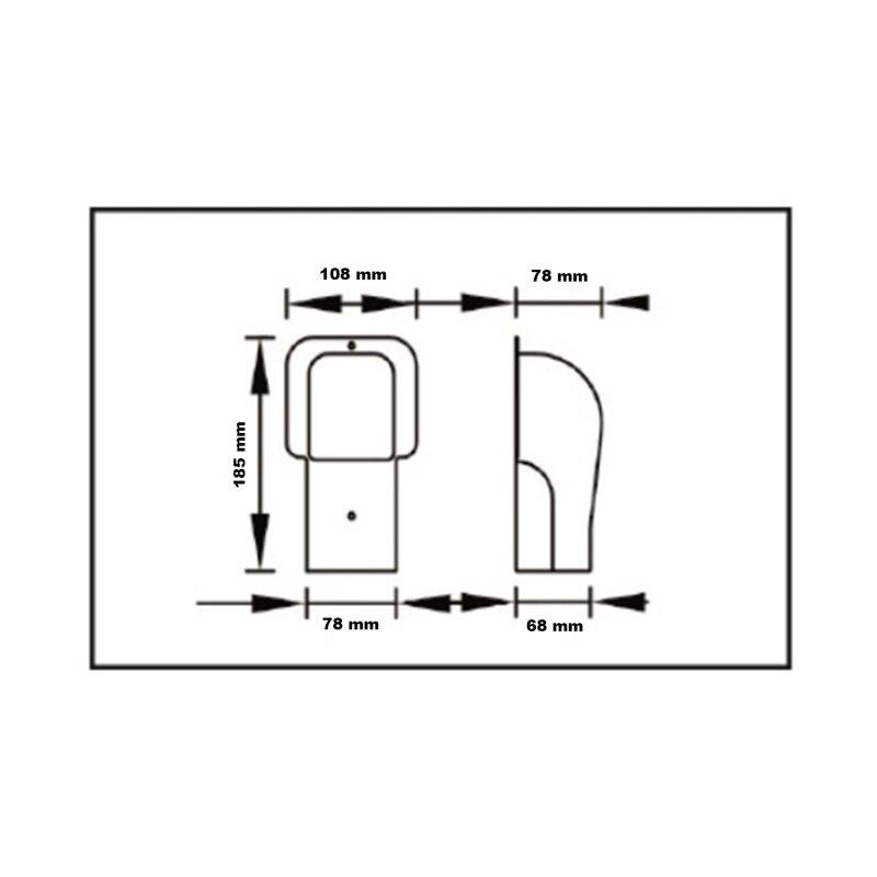 Kältemittelleitung Klimaanlage Kabelkanal TB 72 EXC 2 Meter Lang weiss